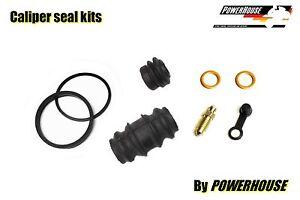 Yamaha DT 125 R 88-04 rear brake caliper seal repair kit 1988 1989 1990 1991
