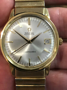 Omega Seamaster Watch 562 Auto Silver Dial 166.002 35mm Steel Circa 1967 Vintage