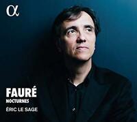 Éric Le Sage - Gabriel Fauré: Nocturnes (NEW CD)