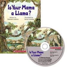 [320] IS YOUR MAMA A LLAMA? Scholastic AUDIO (book and cd) *NEW