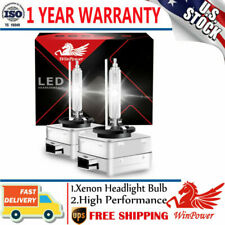 2x D1S 6000K D1R D1C White HID Xenon Light Headlight OEM Replacement Bulbs USA