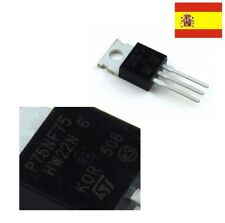 Transistor STP75NF75-potencia MOSFET P75NF75 TO-220 STM  103