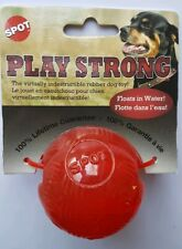Ethical Pet Spot Play Strong Small Durable Rubber Ball Dog Toy Floats In Water