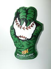 NWOT Montgomery Biscuits Blake Snell Snell-Zilla Pillow Claw Hand Holding Ball