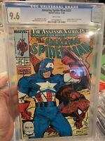 Amazing Spider-Man #323 Nov 89 CGC 9.6