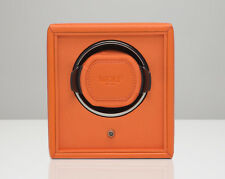 WOLF DESIGNS 1.8 Single Automatic Cub Watch Winder Battery Operated Power Orange