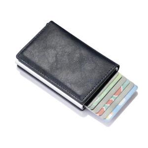 New Men's Women Smart Wallet Credit Bank Card Fashion Wallet Aluminum Alloy