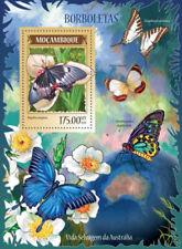 Mozambique 2014 Butterflies of Australia Stamp s/s 13A-1536