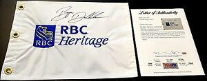 BRYSON DECHAMBEAU SIGNED 2016 RBC HERITAGE FLAG PSA/DNA IN THE PRESENCE LOA