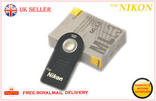 Nikon ml-l3 mll3 IR Wireless Otturatore Remoto Controllo FR d5100 d5300 d5200 d90 d80