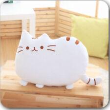Cat Plush Backrest Pillow Filled Cushion Soft Stuffed Throw Waist Cushion Doll