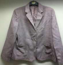 Womens BHS Pale Pink Suit Jacket Size 20