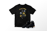 Culture Snake Graphic T-Shirt to Match Air Jordan 6 Retro DMP All Sizes