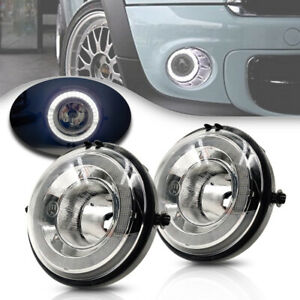 White LED Daytime Running Fog Lamp Assy for Mini Cooper R56 R57 R59 R60 Halo DRL