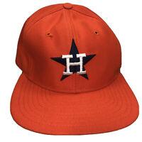 Vintage Houston Astros Made In USA Nolan Ryan Era Sz S/ M New Era Pro Model Cap