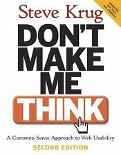 (NEW) Don't Make Me Think, by Steve Krug Second Edition(NEW)