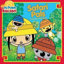 Safari Pals: A Lift-the-Flap Story (Ni Hao Kai-LAN (Simon Spotlight))-ExLibrary