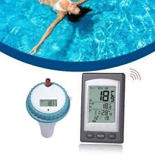 Wireless Remote Floating Thermometer Swimming Pool Hot Tub Pond Spa Waterproof