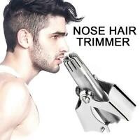 Mini Portable Men Nose Hair Removal Trimmer Waterproof Shaver Clipper  Remover