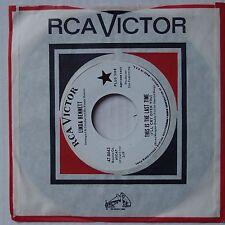 LINDA BENNETT: Love Me Now! RCA VICTOR DJ 45 PROMO NM-