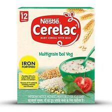 Nestle Cerelac Fortified Baby Cereal with Milk, Multigrain Dal Veg – 12 Month +