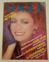Vogue Magazine April 15th 1979 Vintage Vogue Magazine