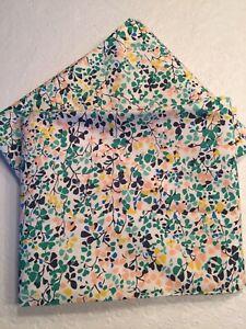 Liberty for Anthropologie Nina Taylor Multi Floral King Pillowcase Set (2) NIOP