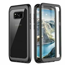 Full Body Case For Galaxy S10e S9 S8 Plus Note 9 Built in Screen Protector Cover