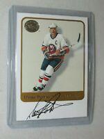 Denis Potvin * 2001-02 Fleer Greats of the Game * Autograph * New York Islanders