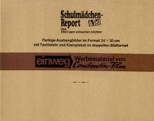 Schulmädchen-Report 6. Teil ORIGINAL Umschlag Sascha Hehn / Puppa Armbruster