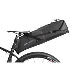 ROCKBROS 100% Wasserdichte Fahrrad Satteltasche 12-14 L Sitz Tasche Anti-Staub