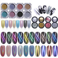 Nail Glitter Powder Holographics Magnetic Chameleon Mirror Pigment Nail Art Dust