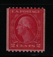 1915 Sc 450 TIII coil single MNH fresh CV $27.50