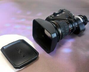 "Fujinon Ha18x7.6berm M48 2/3"" HD Zoom High Quality Broadcast ENG Objektiv , Lens"