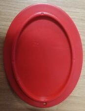 OVALADO Paddock MATE DE MANO Moto Caballete Lateral Soporte rojo Liquidación T
