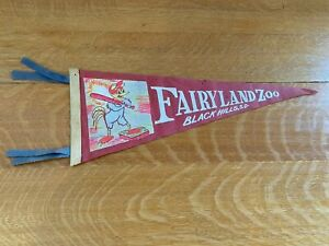 Fairyland Zoo, Black Hills, SD  felt pennant banner