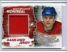 2012/13 ITG FOREVER RIVALS BRIAN BELLOWS GAME/USED MATERIAL