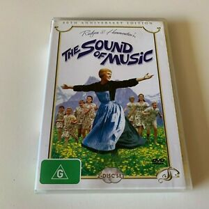 40TH ANNIVERSARY EDITION 2 DISC THE SOUND OF MUSIC DVD