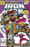 Iron-Man Comic Issue 11 Annual Copper Age First Print 1990 Morgan Ditko Tokar