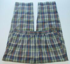 Vintage Polo Ralph Lauren Cotton Plaids Checks Golf Casual Slacks Pants 38 USA