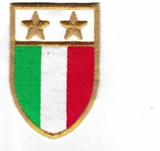 [Patch] SCUDETTO 2 STELLE JUVENTUS ANNI '80 cm 6x9 cm toppa ricamo REPLICA - 347