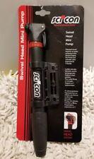 NEW Scicon Swivel Head Mini Pump Black