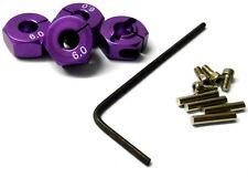 57806p 1/10 ECHELLE RC M12 12mm verrouillage Roue Alliage Adaptateur MOYEU noix