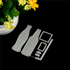 7pcs Cola Bottle Metal Cutting Dies For DIY Scrapbooking Album Paper Cards TO