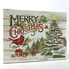 Lang Cardinal Christmas Cards Box of 18 Cards with Envelopes by Susan Winget