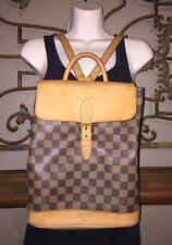 Louis VUITTON Damier Limited Edition CENTENAIRE Backpack # 1601 - Soho Ebene