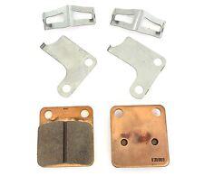 Emgo Full Metal Front Brake Pads - Honda MB5 CR80R