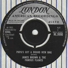 JAMES BROWN - PAPA'S GOT A BRAND NEW BAG, UK, London, HL.9990,  '65