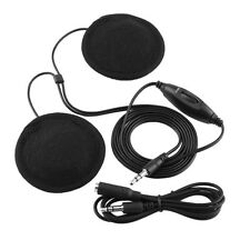 Motorcycle Helmet Headset Headphone Earphone 3.5mm Plug For Mobile Phone MP3 AP