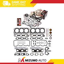 Head Gasket Set Timing Belt Kit Water Pump Fit 89-00 Chrysler Mitsubishi 6G72